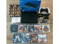PS3 500GB Super Slim Console + Games - £90