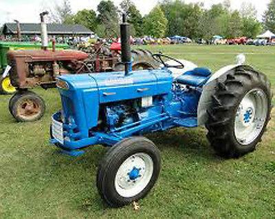 Fordson Super Dexta 2000 5000 Tractors Service Manual Power Major Diesel Fmd Fpm