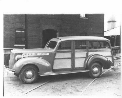 1940 Packard with Hercules Body Woody Station Wagon Press Photo 0028 for sale  Holts Summit
