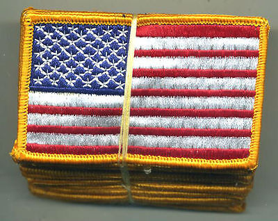 US Army American Flag Color Patch Dealer Lot of 20