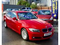 BMW 3 SERIES 318i ES 4dr - Gorgeous Car In Stunning Condition - Well Maintained - FSH (red) 2009