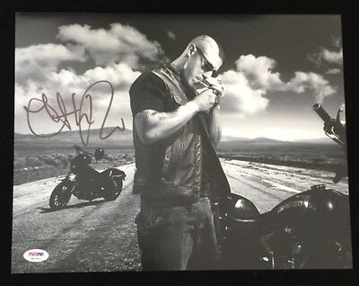 Sons Of Anarchy Juice Theo Rossi Autographed 11X 14 Photo Psa Dna Itp 3A55611