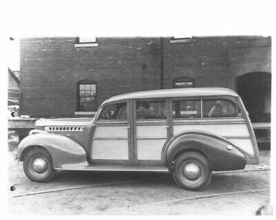 1940 Packard with Hercules Body Woody Station Wagon Press Photo 0027, used for sale  Holts Summit