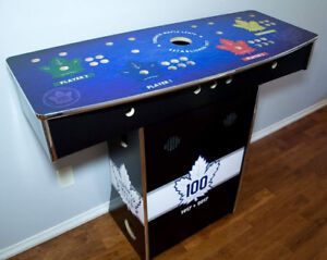 Custom Four Player Stand Up Arcade Game