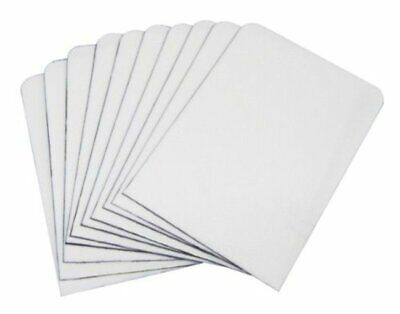 (50) WHITE PLASTIC TRADING CARD TABBED DIVIDERS for CARDBOARD STORAGE BOXES Plastic Storage Dividers