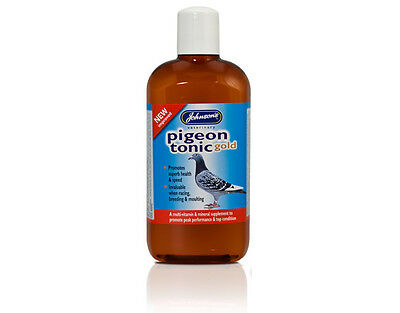 Johnsons Pigeon Tonic Gold 500ml Racing Pigeon Health Drink Johnson's