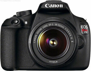 Canon EOS Rebel T5 / EOS 1200D 18.0MP Digital SLR Camera - KIT