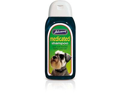 Johnsons Dog Medicated Shampoo 200ml