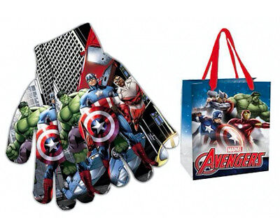 aptain america Iron Man Handschuhe Kinder + Geschenk Tasche (Iron Man-handschuhe)