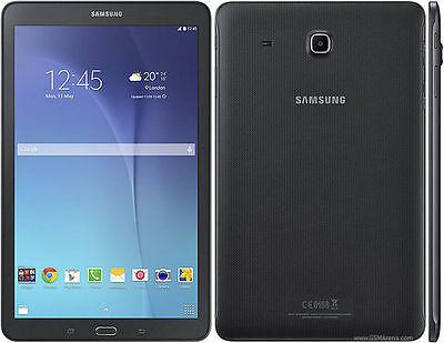 "Samsung Galaxy Tab E SM-T377W 16GB, Wi-Fi + 4G (GSM Unlocked) - 8"" Display Black"