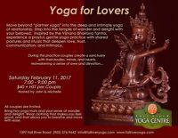 Valentines Yoga for Lovers
