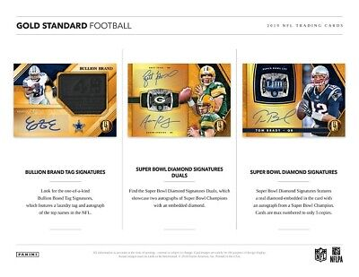 BALTIMORE RAVENS 2019 PANINI GOLD STANDARD FOOTBALL 6 BOX HALF CASE BREAK #6](Baltimore Ravens Football)