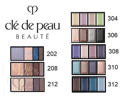 Eye Colour Duo Refill - NEW Cle De Peau Eye Color Duo Quad Refill 5g/6g 202 208 212 304 306 312 310 308