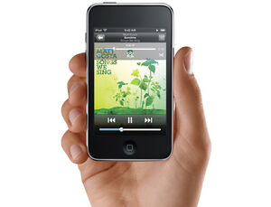 Apple iPod touch 8GB Black / Wi-Fi / GPS /  MP3 PLAYER WITH TOUC