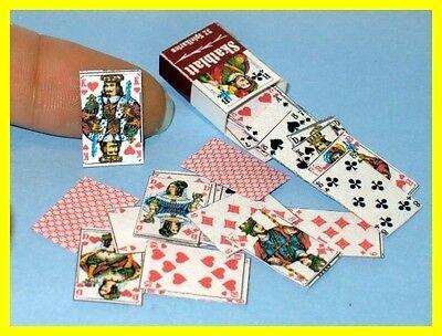 Skatkarten -   Miniatur für die Puppenstube 1.12