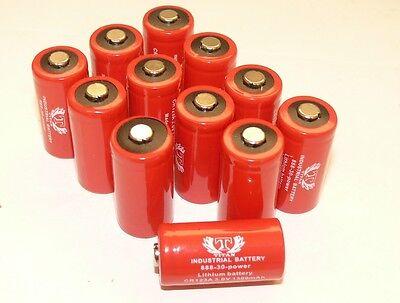 Tank  Industrial 123A CR123A 3 Volt Lithium Batteries