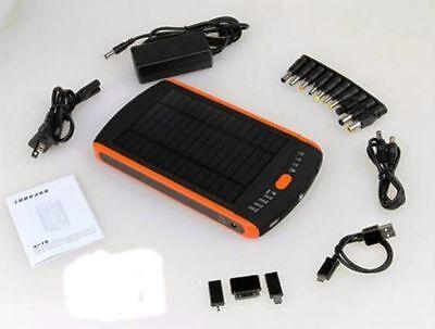 23000mAh Battery Laptop Charger Solar Power Bank 5V 12V 16V 19V / Phone Tablet