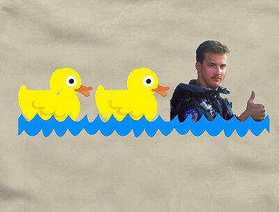 Duck Duck Goose   Top Gun T Shirt Fun 80S Movie Tom Cruise Maverick Iceman