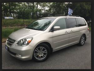 2007 Honda Odyssey Touring Van