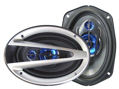 "2) NEW SUPERSONIC SC-6901 6x9"" 3-Way 1200W Car Audio Coaxial Speaker System PAIR on Rummage"