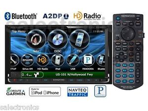 Kenwood-DNX-9990HD-Car-LCD-AM-FM-CD-DVD-GPS-Navigation-BlueTooth-USB-2-DIN