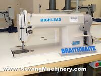 Highlead cg1088 industrial sewing machine plus table