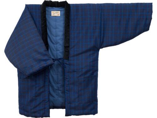 Japanese Kimono Hanten Warm Wear Winter Jacket Free size Made in JAPAN 188