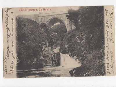 Poul A Phouca Co Dublin Ireland Vintage Postcard 194a
