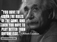 TAX PROBLEMS? WHAT DID EINSTEIN SAY ABOUT SOLVING PROBLEMS?!