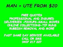 MATE WITH A UTE FROM $20 Mango Hill Pine Rivers Area Preview