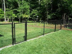 Chain link  fence installation free Estimate