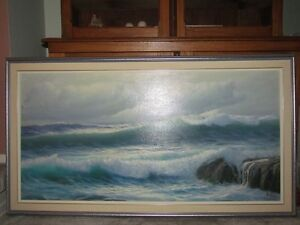 oil painting ocean waves