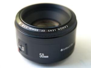 Objectif CANON  50mm  1.8      Version II