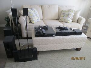 Panasonic 5 disc DVD home theatre system