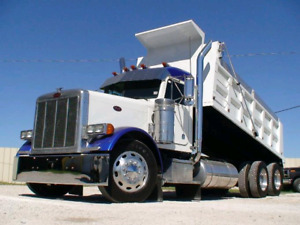 Looking for a tandem dump truck