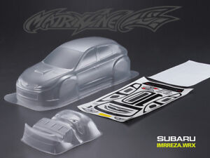 1/10 Subaru Imrreza WRX 10 190mm RC Car Transparent Body PVC NEW