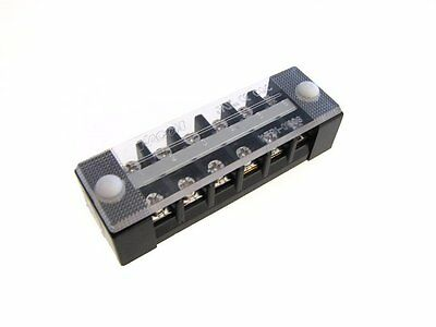 Hq Kacon 6 Position 6p Screw Barrier Strip Terminal Block W Cover 10a