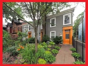 Downtown Toronto Cabbagetown Townhouse apartment 2 bed 2 bath