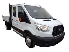 Ford Transit 8211 350 L3 Diesel Rwd 2.0 TDCi 170ps Double Cab Dropside