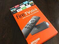 Brand new amazon firestick with alexa voice
