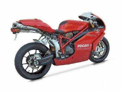 ZD013SBR - Full Exhaust Zard Under-Seat Stainless Steel Ducati 749 / 999 Biposto