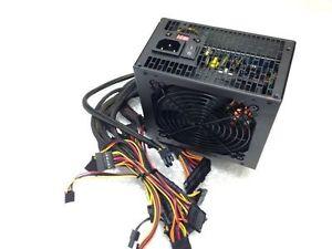 Quiet 750 Watt 750W for Intel AMD PC ATX Power Supply Unit SATA PCI-E 6 Pin