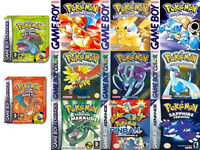 Wanted! Pokemon Gameboy / Colour / Advance Games