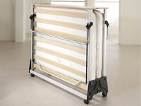 Fold-away small double Jay-Be guest bed