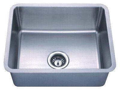 SMALL RADIUS SS Unattached Bowl Undermount Kitchen Sink 6005 1917 w/FREE Strainer
