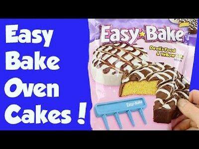 Mojo's Easy Bake Oven Refills - Cookie Mix, Cake Mixes | Fudge Brownie