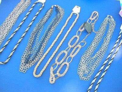 wholesale long necklace chain 12 pcs costume jewelry *Ship From US/Canada*