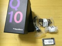Blackberry Q10 Black Full Box - Like New