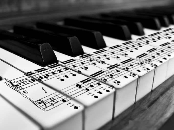 Sheet Music Transcription Arrangement For Piano Voice Vocal