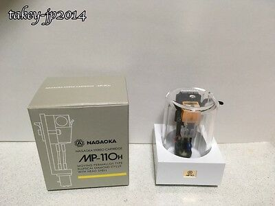 NAGAOKA MP-110H Cartridge+Headshell from JAPAN with tracking Free Shipping